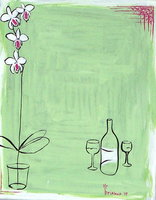 Wine & Orchids
